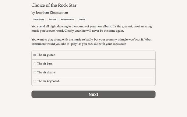 Choice of the Rock Star Torrent Download