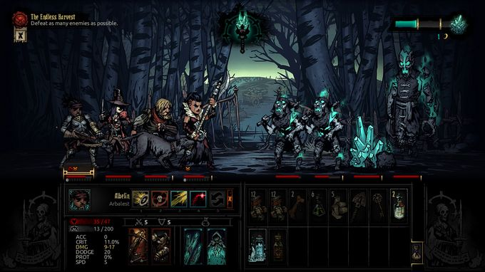 Darkest Dungeon: The Color Of Madness PC Crack
