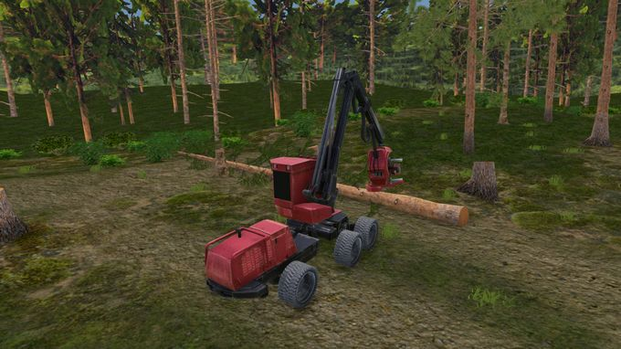 Forest Harvester Simulator PC Crack