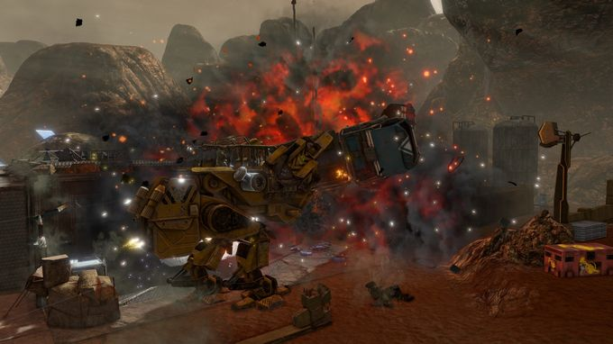 Red Faction Guerrilla Re-Mars-tered Torrent Download