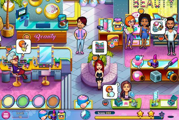Sally's Salon: Kiss (and,furthermore) Make-Up Game