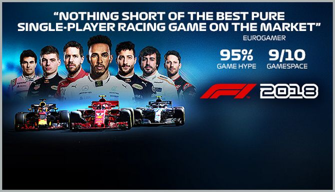 f1 2018 activation key free download
