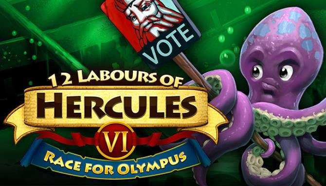 12 Labours of Hercules VI: Race for Olympus (Platinum Edition) Free Download