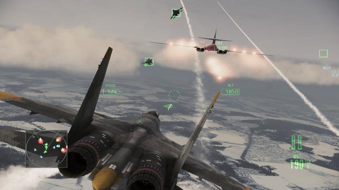 Ace Combat Assault Horizon - Enhanced Edition Torrent Download