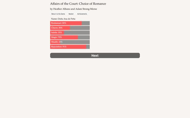 Affairs of the Court: Choice of Romance Torrent Download