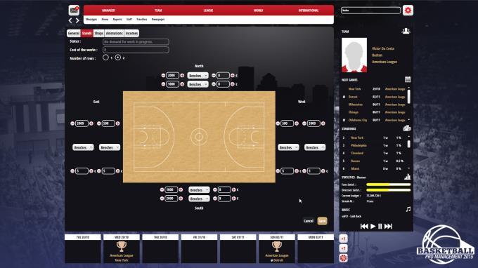 Basketball Pro Management 2015 PC Crack