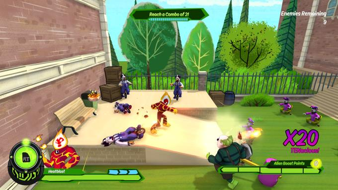 ben 10 alien force the rise of hex game free download for pc