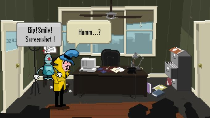 Detective Case and Clown Bot in: Murder in the Hotel Lisbon Torrent Download