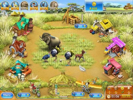 Farm Frenzy 3: Madagascar PC Crack