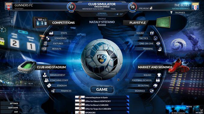 Football Club Simulator - FCS NS#19 PC Crack