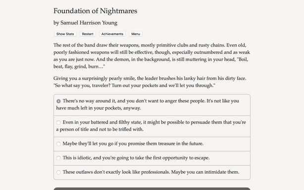 Foundation of Nightmares Torrent Download