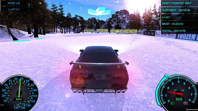 Frozen Drift Race (Restocked) PC Crack