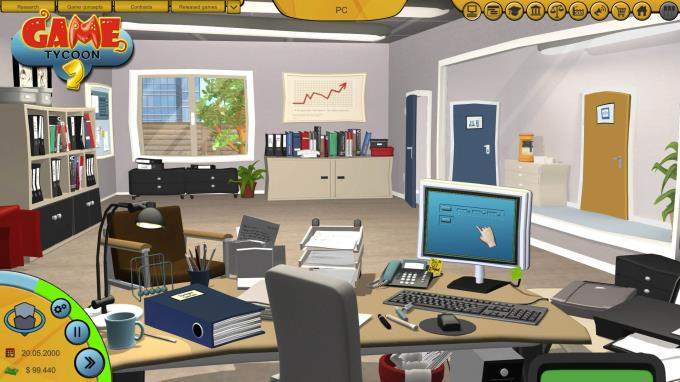 Game Tycoon 2 PC Crack