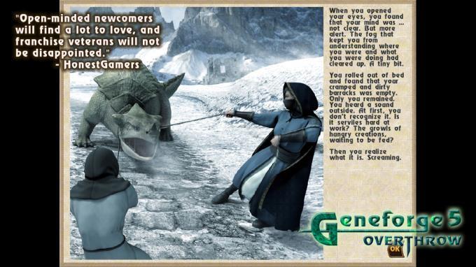 Geneforge 5: Overthrow PC Crack