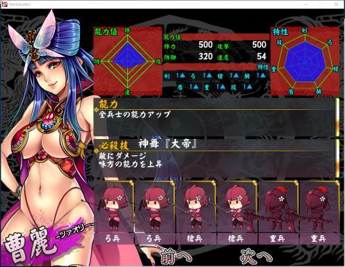 Legend of Fainn Dynasty ~Battles of Beautiful Warlords~ PC Crack