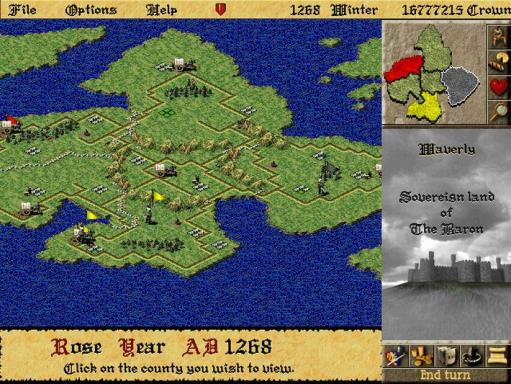 Lords of the Realm II PC Crack