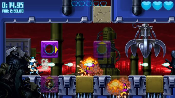 Mighty Switch Force! Hyper Drive Edition Torrent Download