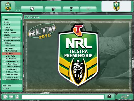 Rugby League Team Manager 2015 PC Crack