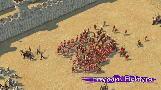 Stronghold Crusader 2: Freedom Fighters mini-campaign PC Crack