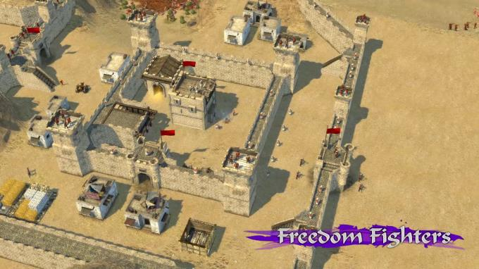 Stronghold Crusader 2: Freedom Fighters mini-campaign Torrent Download