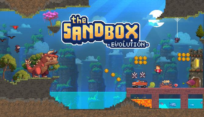 The Sandbox Evolution - Craft a 2D Pixel Universe! Free Download