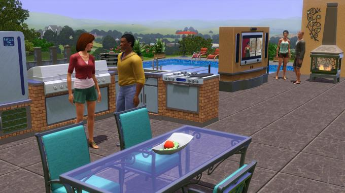 The Sims™ 3 Outdoor Living Stuff PC Crack