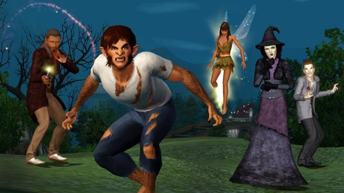 The Sims 3: Supernatural Torrent Download