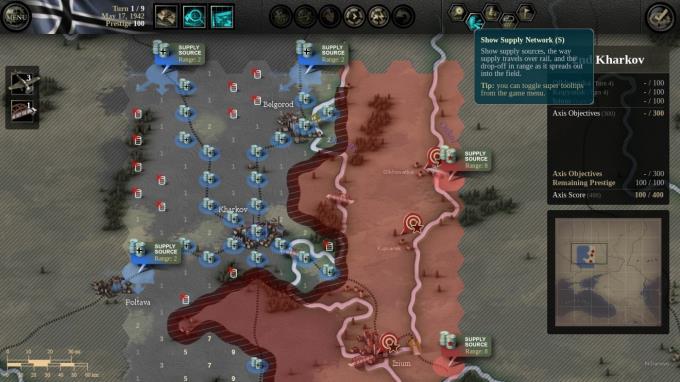Unity of Command: Stalingrad Campaign PC Crack