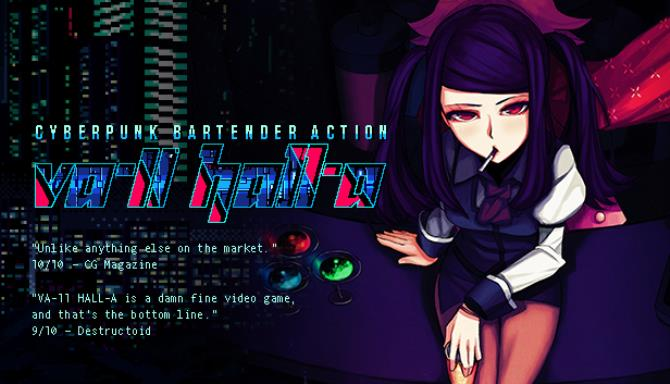 VA-11 Hall-A: Cyberpunk Bartender Action Free Download (v1 3) « IGGGAMES