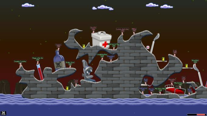 Worms World Party Remastered PC Crack
