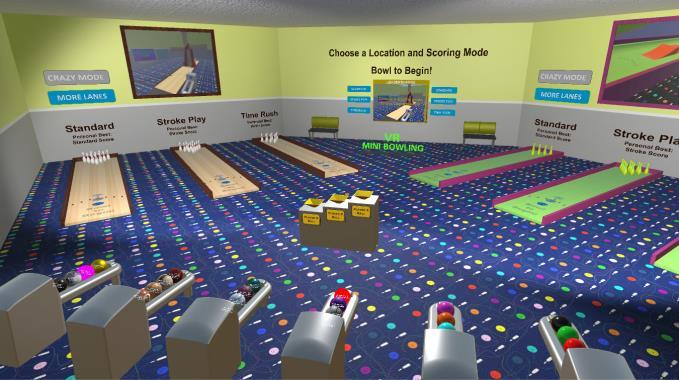 VR Mini Bowling Torrent Download