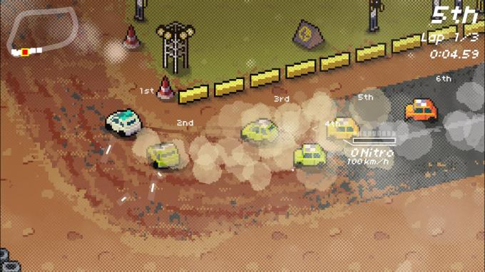 Super Pixel Racers PC Crack