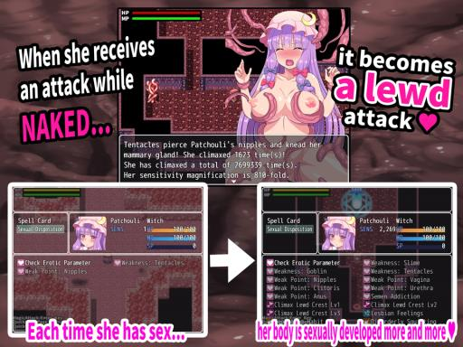 Interspecies Sex Labyrinth & the Lewd Busty Witch ~Until Patchouli Becomes a Seedbed~ PC Crack