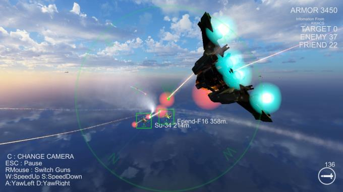 Massive Air Combat Torrent Download
