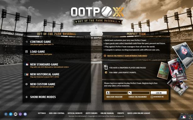 Out of the Park Baseball 20 Free Download (v20 5 46) « IGGGAMES