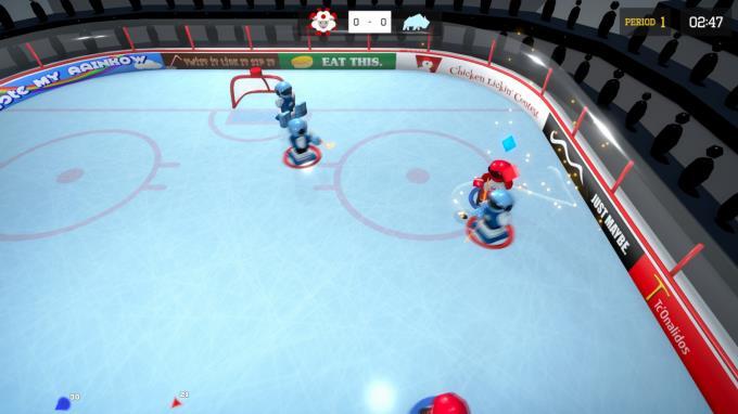 3 on 3 Super Robot Hockey PC Crack