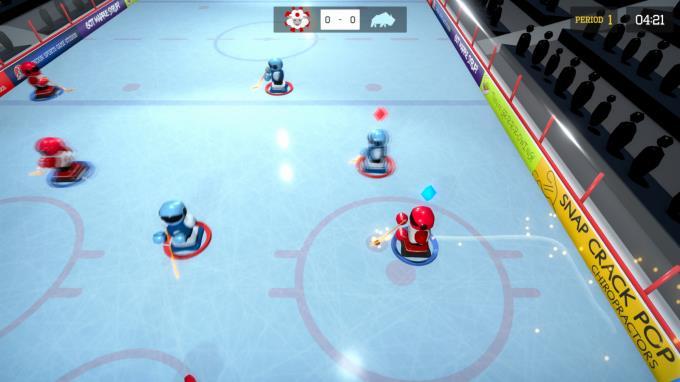 3 on 3 Super Robot Hockey Torrent Download