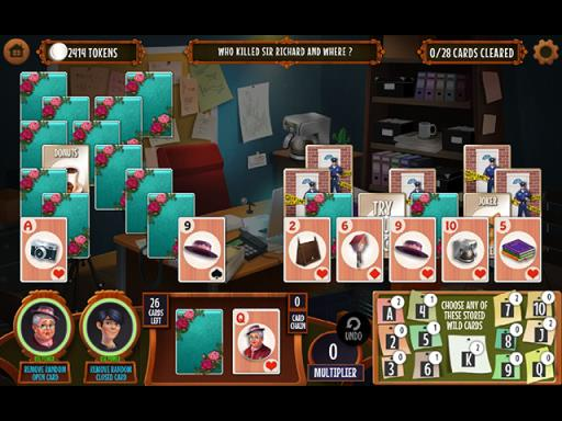 GO Team Investigates: Solitaire and Mahjong Mysteries Free