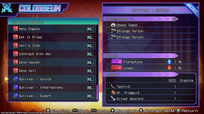 Hyperdimension Neptunia Re;Birth3 Survival PC Crack
