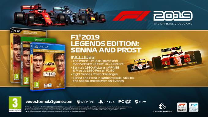 F1 2019 Anniversary Edition PC Crack