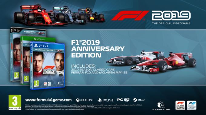 F1 2019 Anniversary Edition Torrent Download