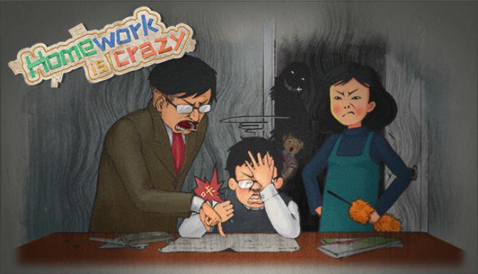 HomeWork Is Crazy / 作业疯了 Free Download
