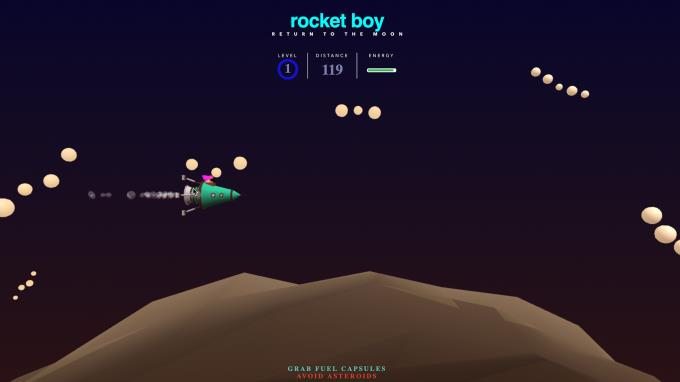 Rocket Boy PC Crack