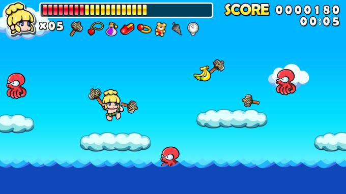 Wonder Boy Returns Remix PC Crack