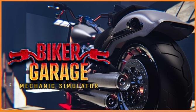 Biker Garage: Mechanic Simulator Free Download