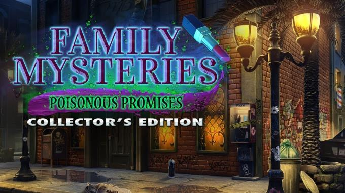 Family Mysteries: Poisonous Promises Collector's Edition Free Download
