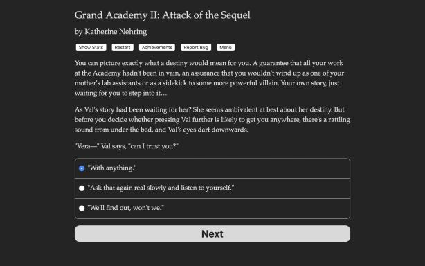 Grand Academy II: Attack of the Sequel PC Crack