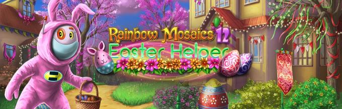 Rainbow Mosaics 12: Easter Helper Free Download