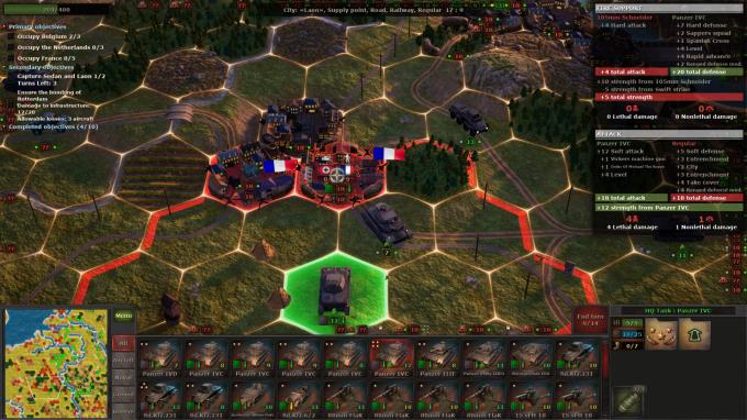 Strategic Mind: Blitzkrieg Free Download PC 1