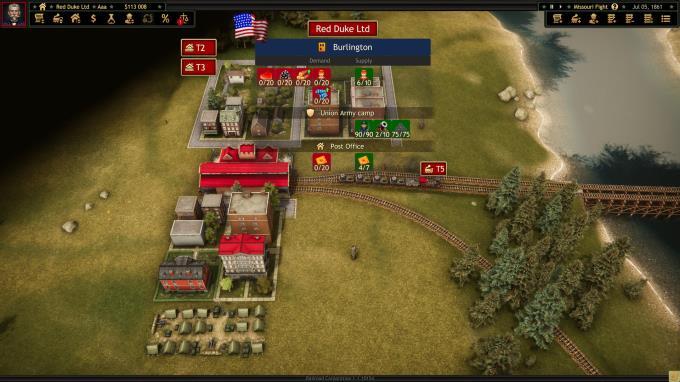 Railroad Corporation - Civil War PC Crack